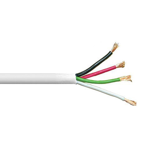 Speaker Wire, 14AWG, 4C, 500 Ft.