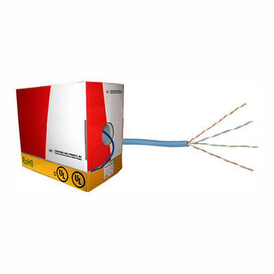 Cat5e Cable, Plenum Rated, 1,000 Ft.