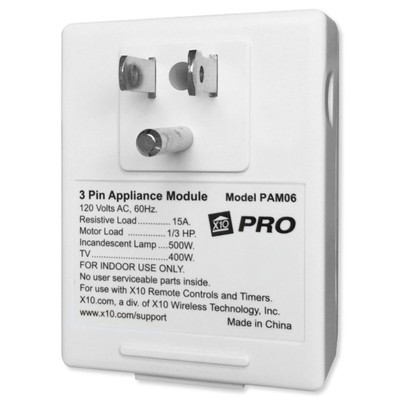 X10 Appliance Module, 3-Prong with AGC