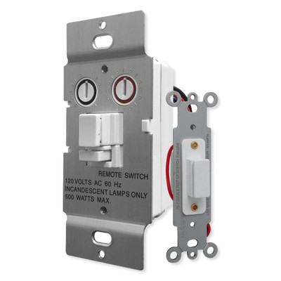 X10 PRO Dimmer Wall Switch, 3-Way, White