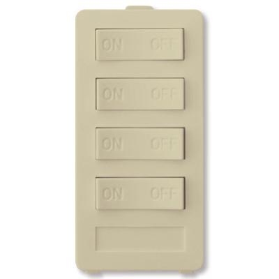 X10 PRO 4-Button Keypad (4 Address), Ivory