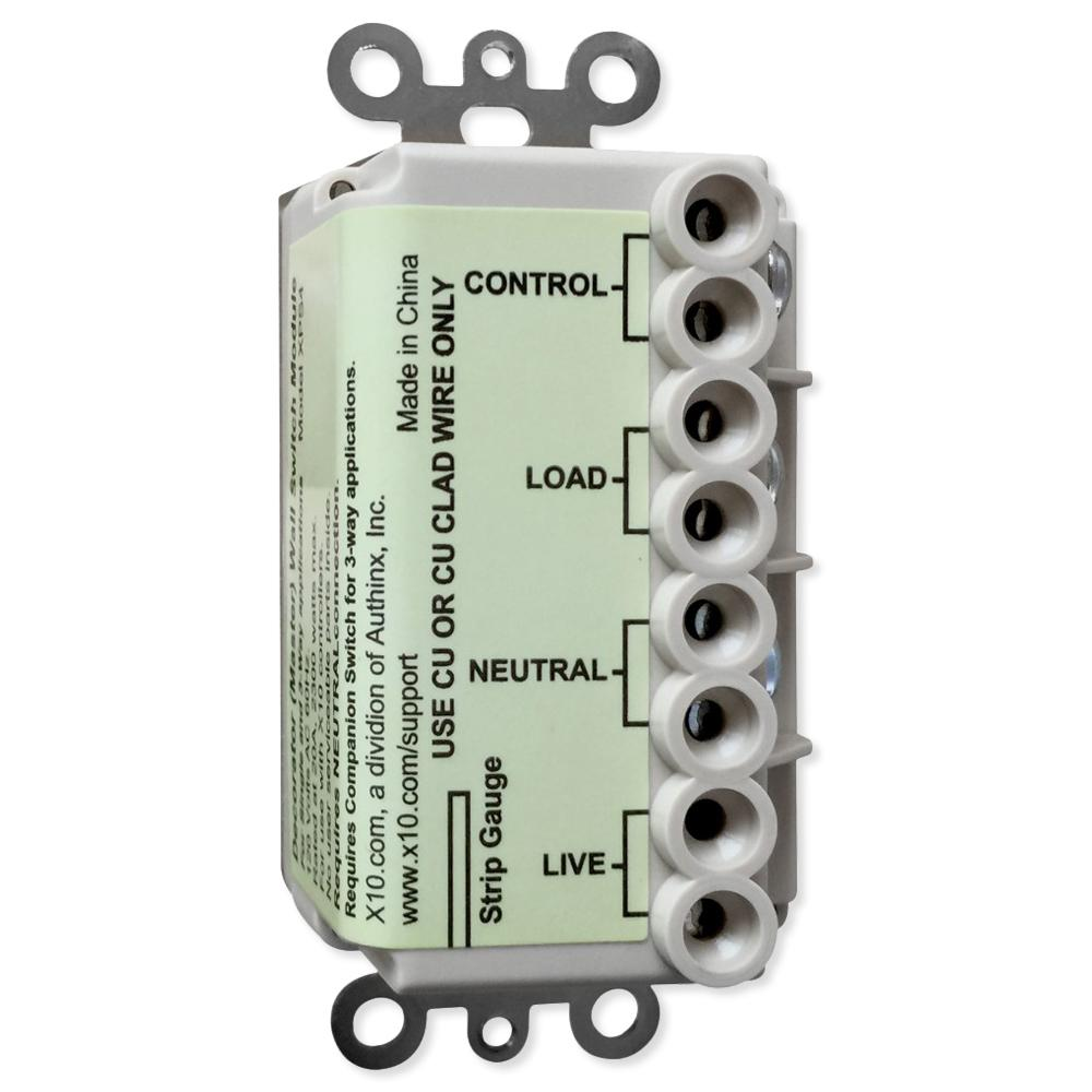 X10 Appliance Wall Switch With Silent Relay