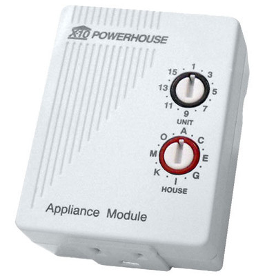 X10 Plug-In Appliance Module, 3 Prong