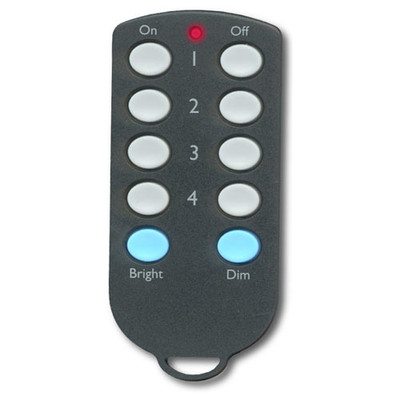 X10 4-Button Wireless Credit Card Controller