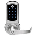 Yale nexTouch Cylindrical Z-Wave Plus Touchscreen Lock, Oil Rubbed Bronze