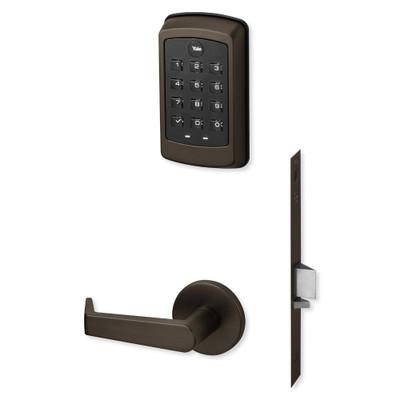 Yale nexTouch Sectional Mortise Lock Pushbutton Keypad and Zigbee Module, Dark Oxidized Bronze