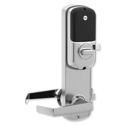 Yale Z-Wave Assure Interconnected Lockset with Touchscreen Deadbolt, Augusta Lever, Left Handed, Satin Nickel