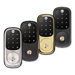 Yale Z-Wave Plus Touchscreen Deadbolt Assure Lock (Gen5), Bright Brass