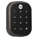 Yale SL Key Free Touchscreen Deadbolt Assure Lock, Connected by August, Oil Rubbed Bronze (Open Box)