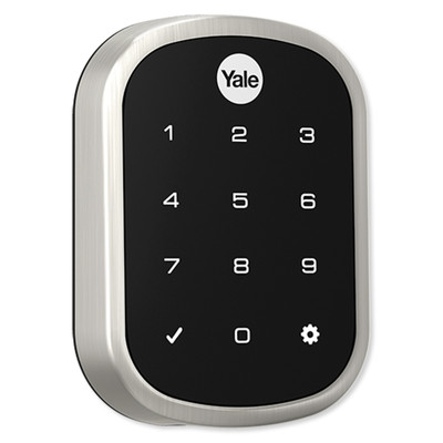 Yale Z-Wave Assure SL Key Free Touchscreen Deadbolt, Satin Nickel