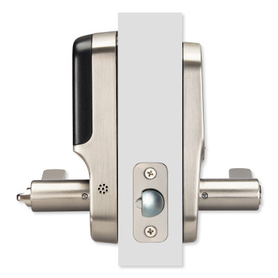 Yale Z-Wave Plus Assure Touchscreen Keypad Lever Lock, Satin Nickel