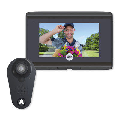 Yale WiFi Digital Door Viewer, Black