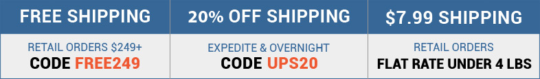 Home Controls Shipping Specials