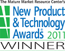 The Mature Market Resource Center's New Product and Technology Awards Winner For 2011.