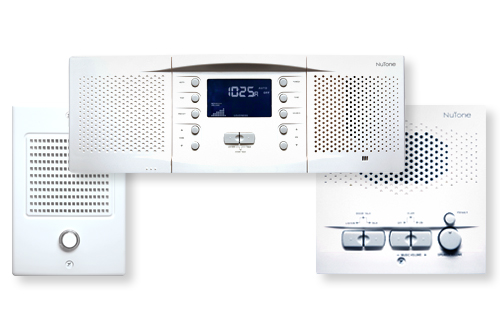 NuTone NM Music & Intercom System