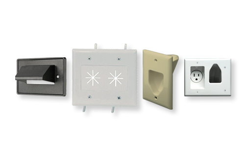Cable Access Wallplates & Inserts