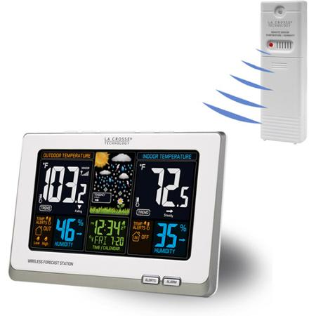 La Crosse Wireless Color Weather Station with Sensor