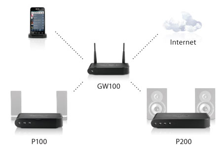 Nuvo Wireless Diagram
