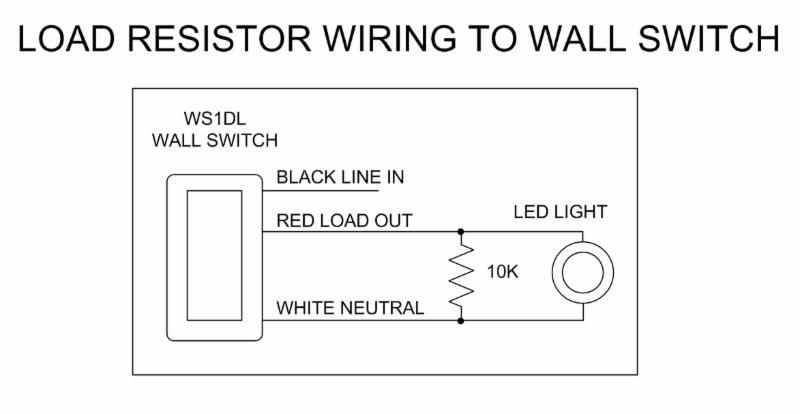 Pcs 10k Load Resistor For Led Lighting Light Resistorrhhomecontrols: Led Load Resistor Wiring Diagram At Gmaili.net