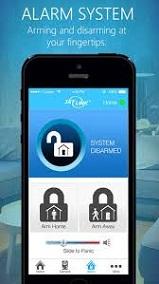 SkylinkNet   App Alarm Screen