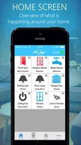 SkylinkNet   App Home Screen