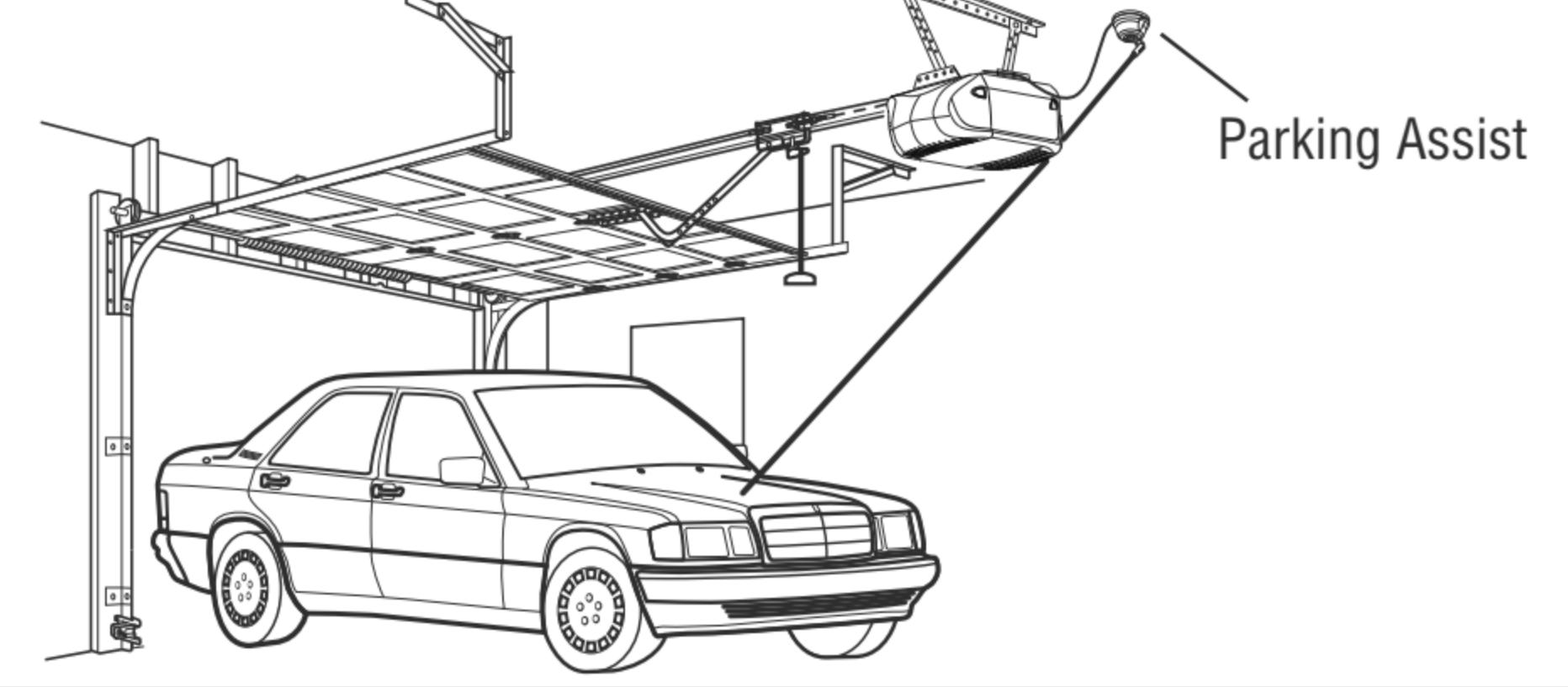 Chamberlain Garage Laser Parking Assist Mercedes Benz Ml Engine Diagram Park