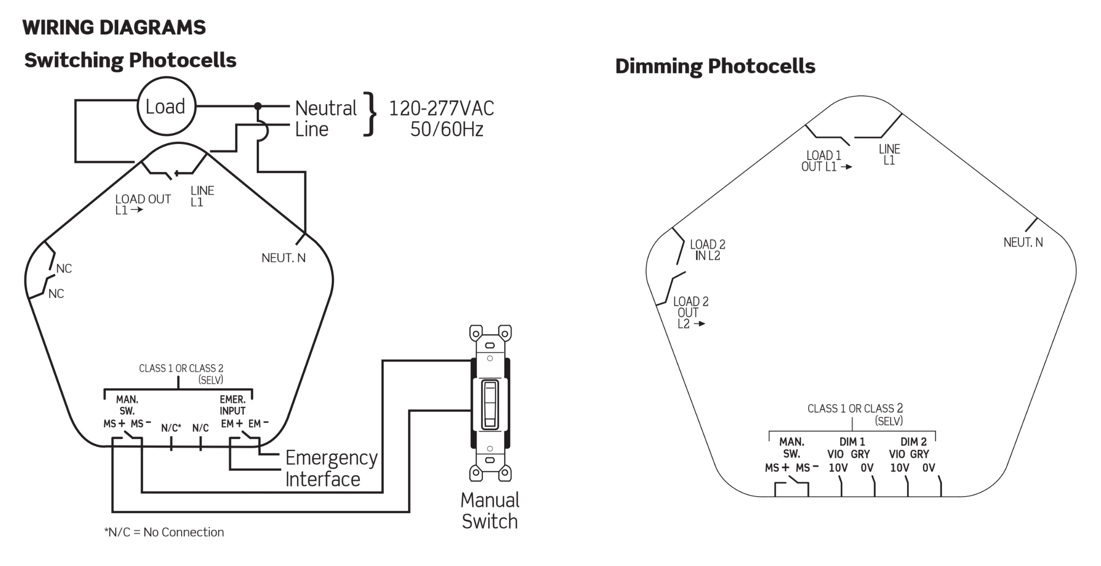 Leviton Provolt Line Voltage Photocell Ceiling Mount Sensor Wiring Diagram Light Switch Contents