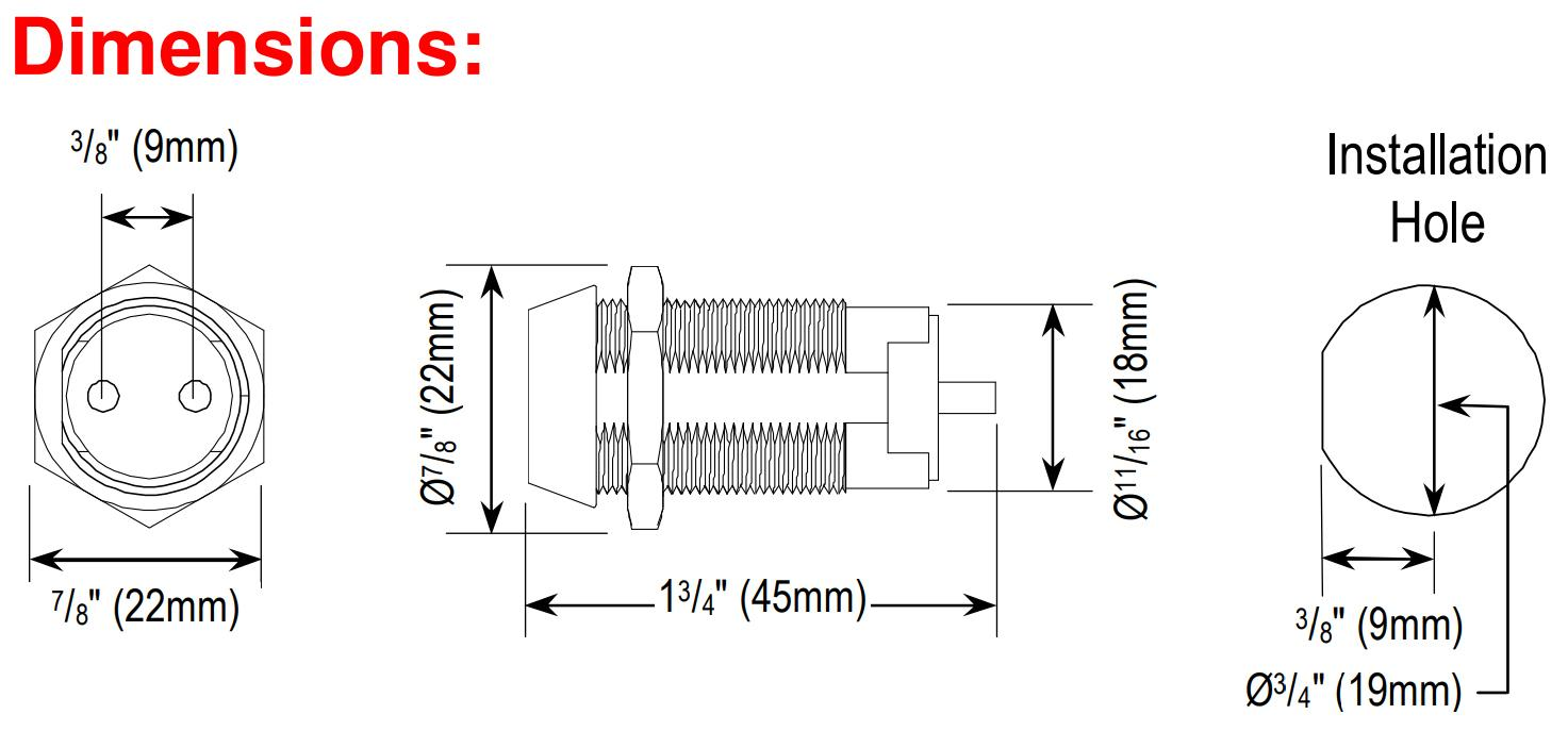 Seco Larm Enforcer Spst Tubular Key Lock Shunt On Off Wiring Diagram In Parrallel Dimensions