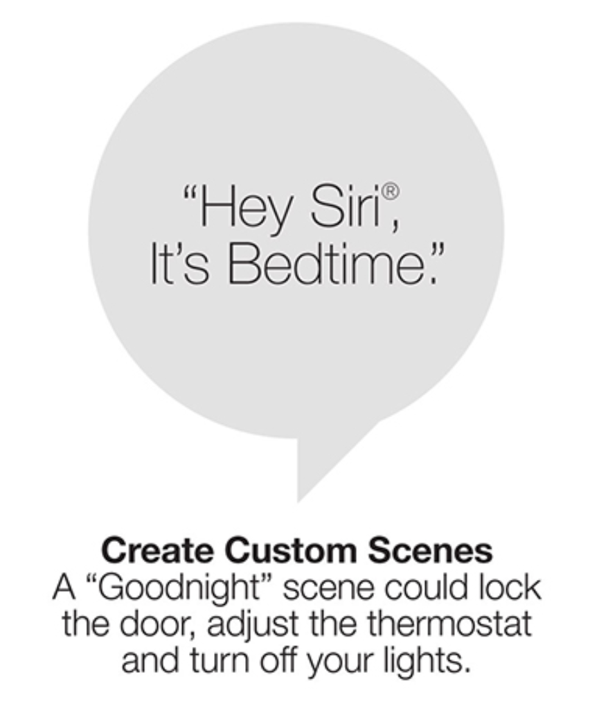 Hey Siri, It's Bedtime.