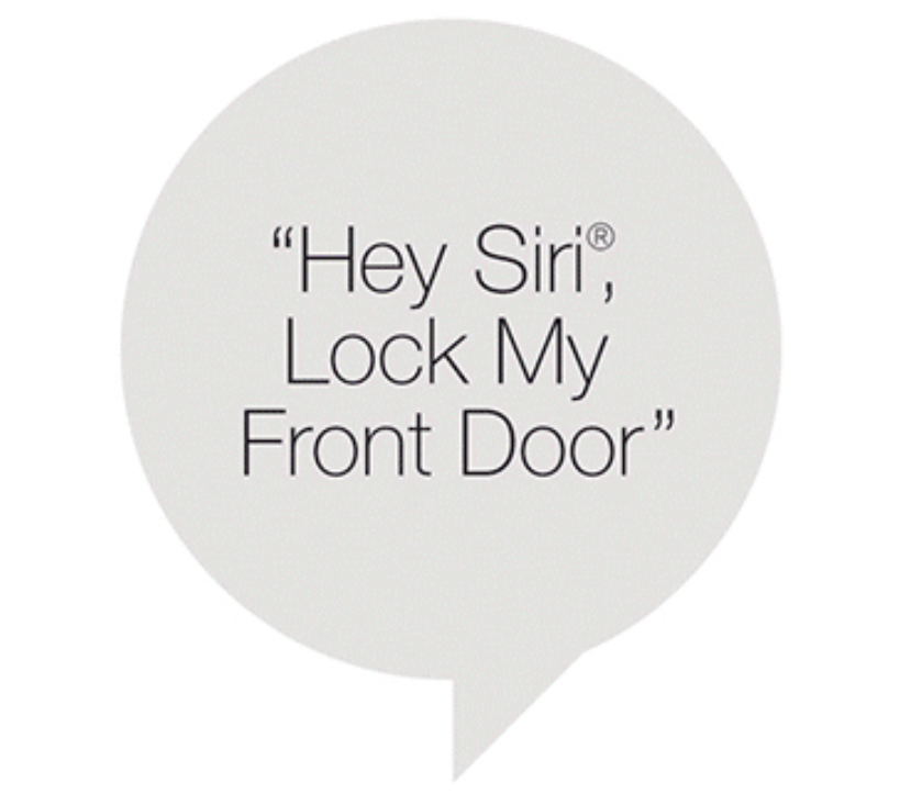 Hey Siri, Lock My Front Door